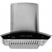 Hindware Cleo Heat Auto clean Chimney 60cm 1200m3/hr SS Wall Mounted Chimney(Stainless Steel 1200 CMH)