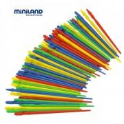 Miniland - Set 100 ace mari pentru insirat