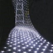 Plasa Luminoasa Craciun 3x1.2m 160LED Alb Rece FI P MRL