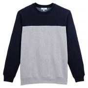 LA REDOUTE COLLECTIONS Dreifarbiges Sweatshirt mit rundem Ausschnitt