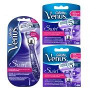 Gillette Combi Venus Swirl Houder incl 13 mesjes