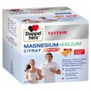 Queisser Pharma GmbH & Co. KG Doppelherz® system Magnesium + Kalium Citrat Granulatbeutel