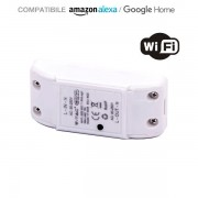 INTERRUTTORE WIFI COMPATIBILE ALEXA E GOOGLE HOME VT-5008-LED8422