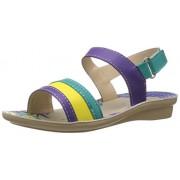 Foot Fun (from Liberty) Girl's Green Fashion Sandals - 1 UK