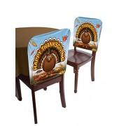 Forum Novelties Happy Thanksgiving Turkey Chair Cover
