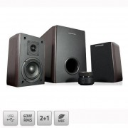 Sistem audio 2.1 Modecom MC-MHF60U Brown