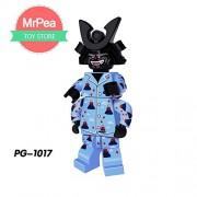 Generic Compatible LegoINGlys NinjagoINGlys Sets Ninja Heroes Kai Jay Cole Zane NYA Lloyd with Weapons Action Toys for Children PG-1017