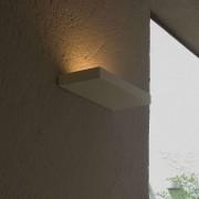 Lumini Plate Wandleuchte weiß matt Standard-Fassung