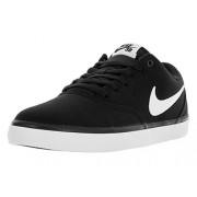 Nike Men's SB Check Solar CNVS Black Sneakers (843896-001) (UK-11 (US-12))