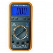 Tester Multimetro Gralf Vc9808 Capacimetro Inductancia Ac/dc