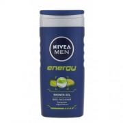Nivea Men Energy 250 ml sprchovací gél na telo, tvár a vlasy pre mužov