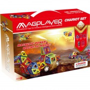 Joc de constructie magnetic 40 piese Magplayer