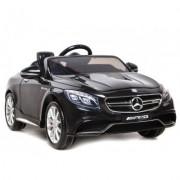 Masinuta electrica Mercedes Benz S63 AMG Black cu roti din cauciuc