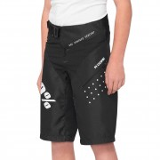 100% Youth R-Core Shorts black