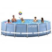INTEX 28752 Piscina Prisma Tonda 549x122cm con Pompa