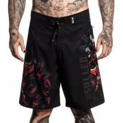 pantaloncini (costume da bagno) SULLEN - PANCHO - NERO - SCM2331_BK