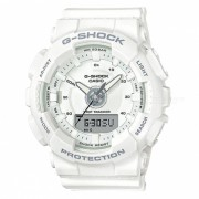 casio GMA-S130-7A step tracker serie S reloj analogico digital - blanco