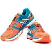 Asics Gel-Nimbus 16 Men Running Shoes For Men(Blue, Orange)