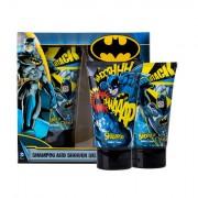 DC Comics Batman sada sprchový gel 150 ml + šampon 150 ml pro děti