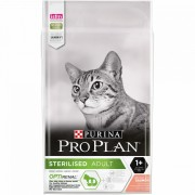 Purina Pro Plan Sterilised OPTIRENAL bogata în Somon
