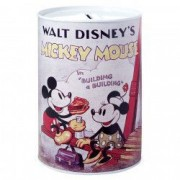 Pusculita metalica Walt Disney retro Mickey Mouse
