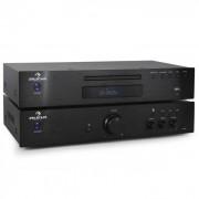Auna Set amplificador estéreo hifi y reproductor CD 600 w (PL-4933-5063)