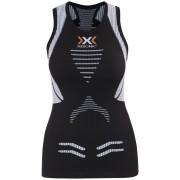 X-Bionic The Trick Hardloopshirt zonder mouwen Dames zwart L 2018 Compressie shirts