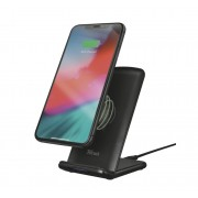 Wireless Charger, TRUST Primo10, Fast-charging Desk Stand (23325)