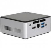 Wortmann AG 6000 SILENT GREENLINE 2.1GHz i3-5010U 0.6L sized PC Silver Mini PC