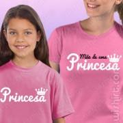 T-shirts Mãe de uma Princesa
