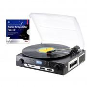 Q-Sonic Schallplatten- und MC-Digitalisierer + Audio Restaurator Pro 10