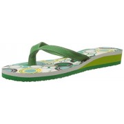 Franco Leone Women's Green Flip-Flops and House Slippers - 4 UK/India (37 EU)