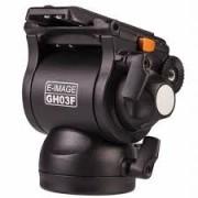 E-Image GH03F Pofessional Fluid Drag Video Tripod Head Flat Base ( 5Kg )
