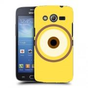 Husa Samsung Galaxy Core 4G LTE G386F Silicon Gel Tpu Model Big Eye Minion