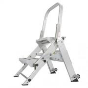 Xtend & Climb WT2 Professional Series Folding Step Stool with Handrail, 2-Step