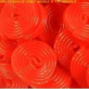 Fruity Cherry Liquorice Wheels Sweets
