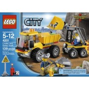 Lego City 4201 Loader and Tipper (Gold)