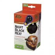 ZILLA Foco incandescente de Calor, Negro (Night Black), 150-watt