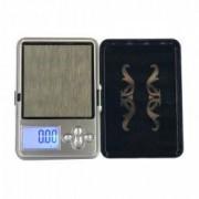 Mini Cantar pentru Bijuterii 0.01 g - 200 g Afisaj Digital LCD Profesional Husa Inclusa Negru baterii incluse