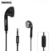 REMAX RM-303 auricular intra-auricular de 3.5mm con microfono - Negro + Multicolor (100cm)