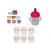 Hasbro Baby Alive Bottle/Sippy Cup, Diapers And Snack Pack Refill Pack