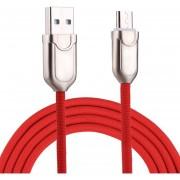 1m 2a Micro USB A USB 2.0 Cable De Sincronizacion De Datos Cargador Rapido Samsung Galaxy S7 Y S7 EDGE / LG G4 / Huawei P8 / Xiaomi MI4 Y Otros Smartphones (rojo)