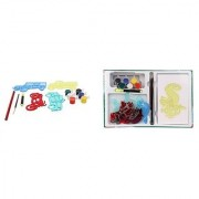 Virgo Toys Hobby Art Jr Vehicles 1 and Jr Water World 1 - Stencil Art and Craft kit (Combo)