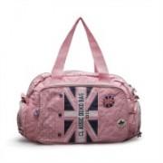 CHICBAE (Expandable) Unisex Gym Bag Gym Bag(Pink)