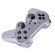 ALAMODE PS3 Carcasa Exterior Para Controles De PlayStation 3 (Plata)