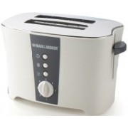 Black & Decker ET122 800 W Pop Up Toaster(White)