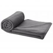 Geen Fleece deken grijs 150 x 120 cm - Action products
