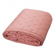 Cam Cam Ekologisk Junior Quilt Dot Dark Blush/Gold Överkast