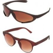 ZOZAN INTERNATIONAL Aviator, Rectangular, Sports, Clubmaster, Wayfarer, Oval, Retro Square Sunglasses(For Boys & Girls)