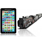 P1000 Kids Educational Learning Tablet Computer +Battery Operated Train Set
